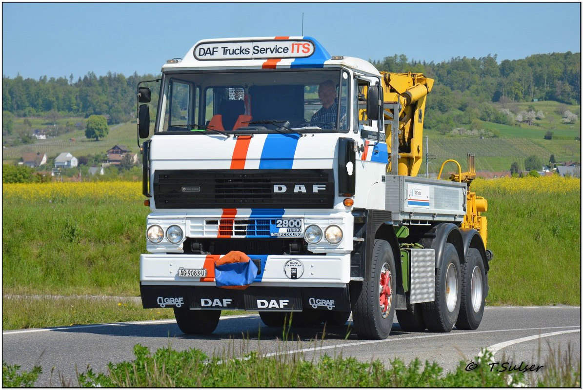 Forum d a f daf 800 3600 for Garage daf tours