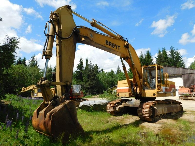 BROYT escavatori Attachment