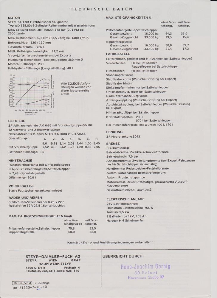 Baumaschinenbilder.de - Forum | Steyr | Steyr Prospekt-Scans