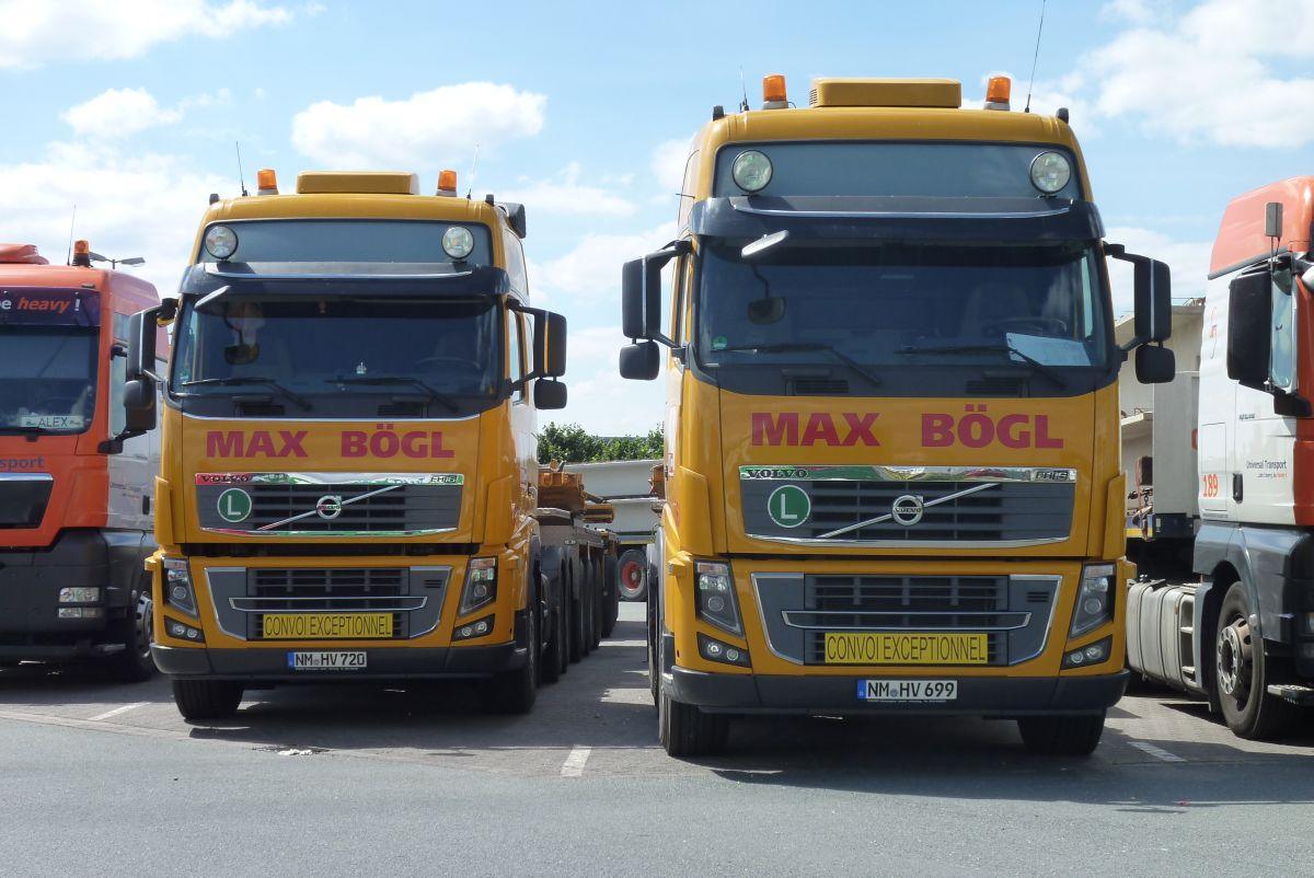 Max Bögl Schwertransporte